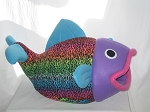Rainbow Cheetah Flounder Bed