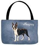 Boston Terrier Dog Tote