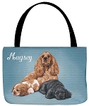 Cocker Spaniel Dog Tote