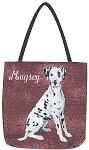 Dalmation Dog Tote