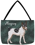 Rat Terrier Dog Tote