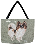 Papillion Dog Tote