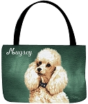 Poodle Dog Tote
