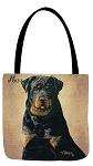 Rottweiler Dog Tote