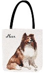 Sheltie Dog Tote
