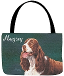 Springer Spaniel Dog Tote