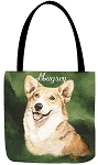 Welsh Corgi Dog Tote