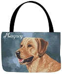 Yellow Lab Dog Tote