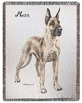 Great Dane Dog Throw