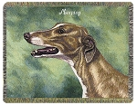 Greyhound Dog Throw
