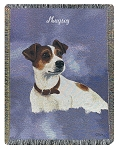 Jack Russell Dog Throw