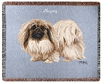 Pekingese Dog Throw
