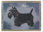 Scottie Dog Throw