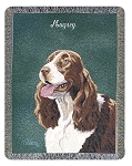 Springer Spaniel Dog Throw