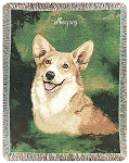 Welsh Corgi Dog Throw