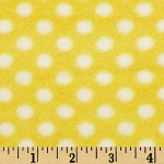 White dots on Yellow Snuggle  Sack