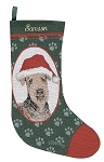 Airedale Christmas Stocking