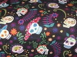 Day of the Dead Through the Collar Bandana