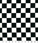 Checkered Flag Through the Collar Bandana
