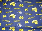 Wolverines Through the Collar Bandana