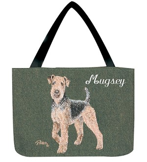 Airedale Dog Tote