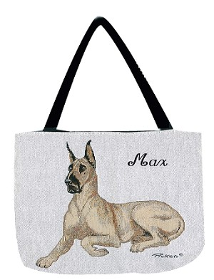 Great Dane Dog Tote
