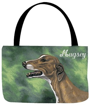 Greyhound Dog Tote