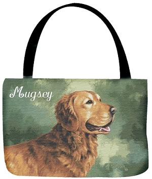 Golden Retriever Dog Tote