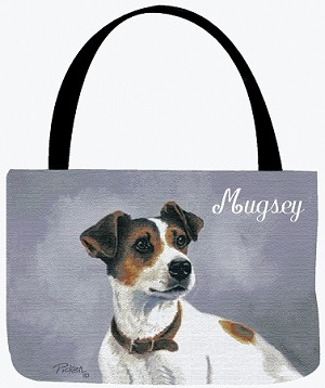 Jack Russell Dog Tote