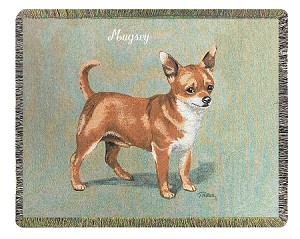 Chihuahua Dog Throw