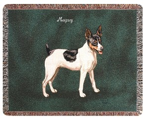 Rat Terrier Dog Throw