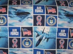 Air Force Through the Collar Bandana