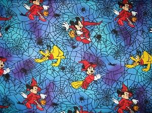 Mickey Halloween Through the Collar Bandana
