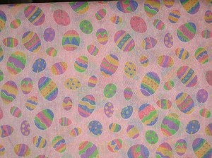 Easter Eggs on Pink Collar Cover