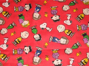 Snoopy and Pals Through the Collar Bandana