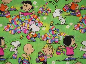 Snoopy Celebrates Easter Collar Cover