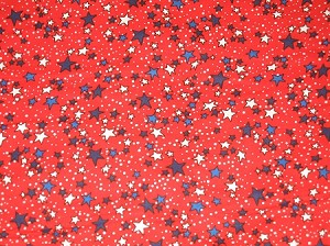 Stars on Red Collar Cover